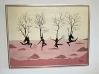 Tanzende Baumfrauen